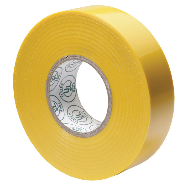 "Ancor Premium Electrical Tape - 3/4"" x 66' - Yellow"