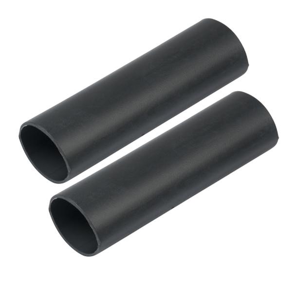 "Ancor Heavy Wall Heat Shrink Tubing - 1"" x 12"" - 2-Pack - Black"