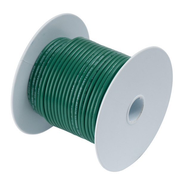 Ancor Green 6 AWG Tinned Copper Wire - 50'