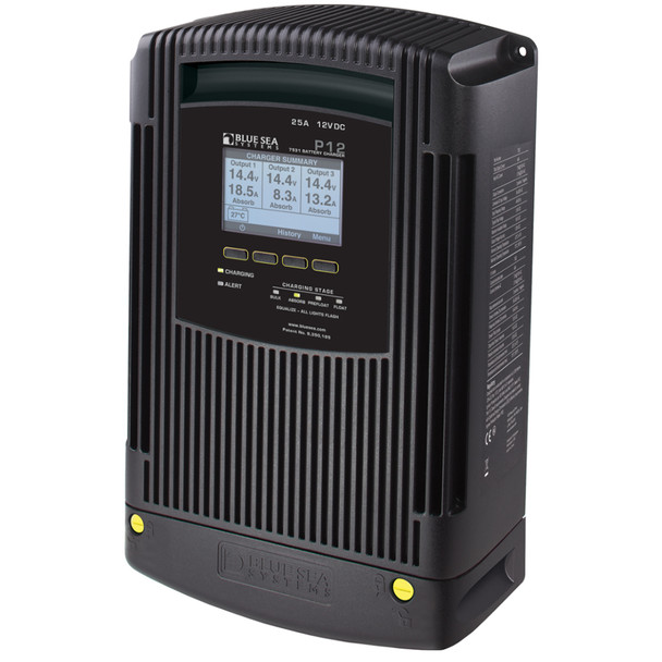 Blue Sea 7531 P12 Battery Charger - 12V DC 25A