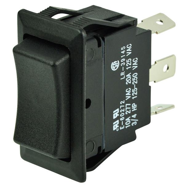 BEP SPDT Rocker Switch - 12V/24V - (ON)/OFF/(ON)