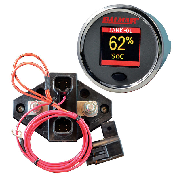 Balmar SG200 Battery Monitor Kit w/Display Shunt & 10M Cable - 12-48 VDC