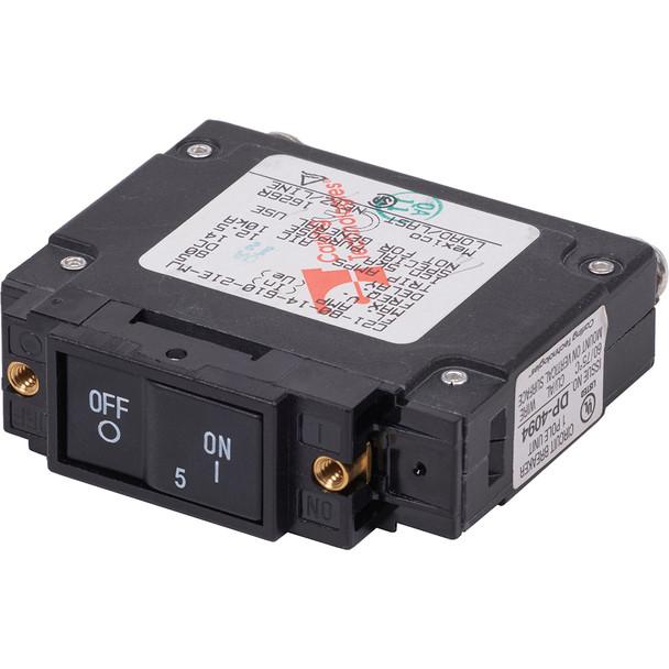 Blue Sea 7440 UL-489 Circuit Breaker - 5A Flat Rocker