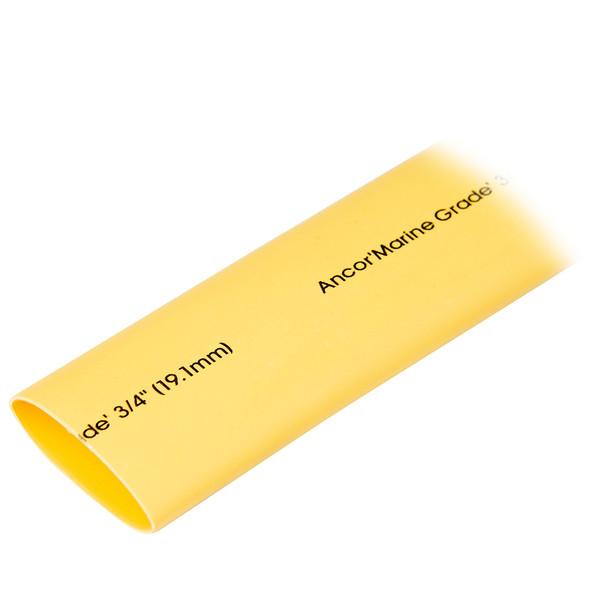 "Ancor Heat Shrink Tubing 3/4"" x 48"" - Yellow - 1 Piece"