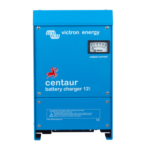 Victron Centaur Charger - 12 VDC - 40AMP - 3-Bank - 120-240 VAC