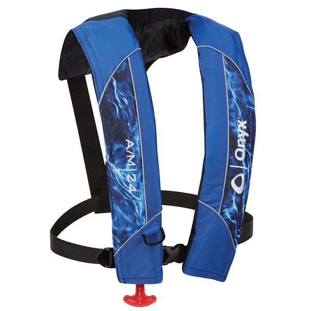 Onyx A/M-24 Automatic/Manual Inflatable Life Jacket (PFD) - Mossy Oak Elements