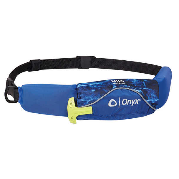 Onyx M-16 Manual Inflatable Belt Pack (PFD) - Mossy Oak Elements