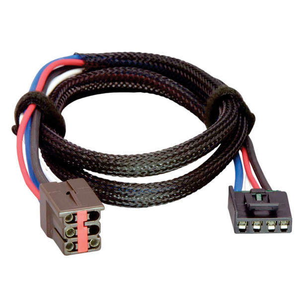 Tekonsha Brake Control Wiring Adapter - 2 Plug - fits Ford, Lincoln, Land Rover