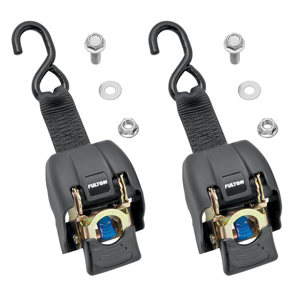 "Fulton Transom Ratchet Tie Down - 2"" x 43"" - 2-Pack"
