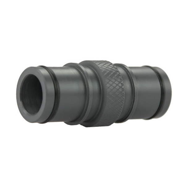 """FATSAC Double Sided 1-1/8"""" Quick Connect Fitting w/O-Rings f/Auto Ballast System"""