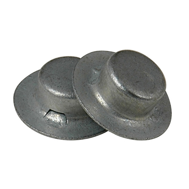 "C.E. Smith Cap Nut - 1/2"" 8 Pieces Zinc"