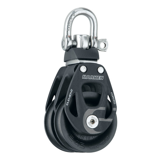 Harken 45mm Double Element Block w/Swivel