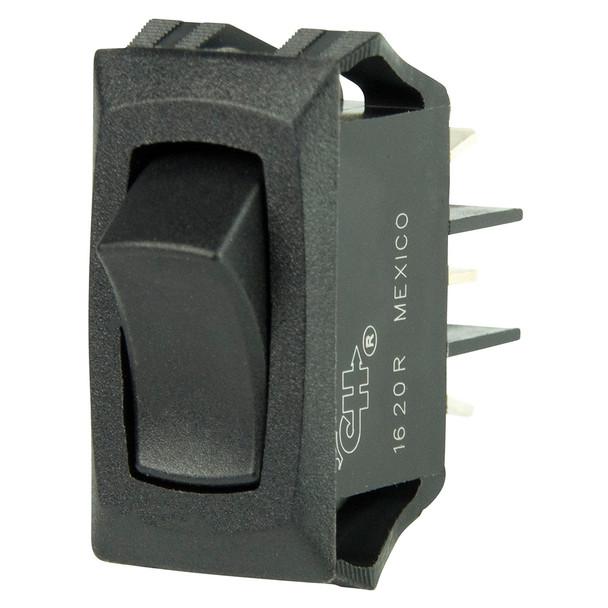 BEP Curved SPDT Mini Rocker Switch - 12V - ON/ON