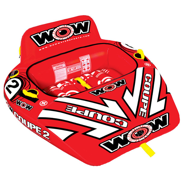 WOW Watersports 2P Coupe Cockpit Towable - 2 Person