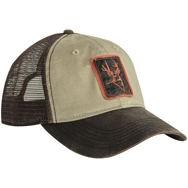 Dri Duck Waxy Cotton Trucker Buck Icon Cap