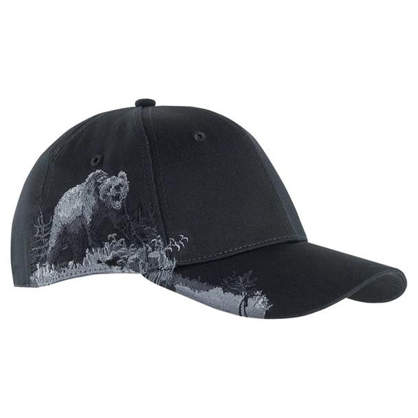 Dri Duck Grizzly Bear Wildlife Cap