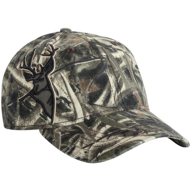 Dri Duck 3D Applique Buck Wildlife Cap