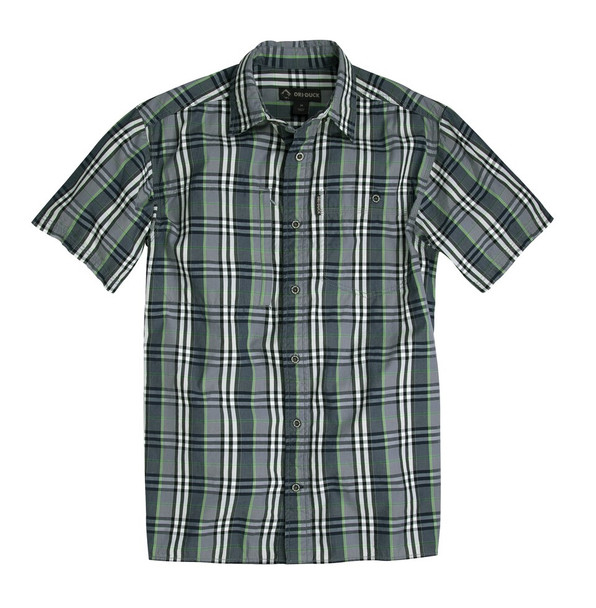 Dri Duck District Plaid Short Sleeve Shirt
