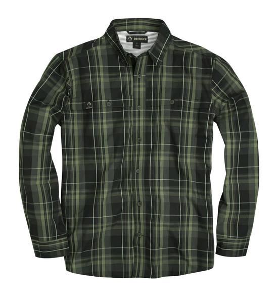Dri Duck Gillham Plaid Long Sleeve Shirt