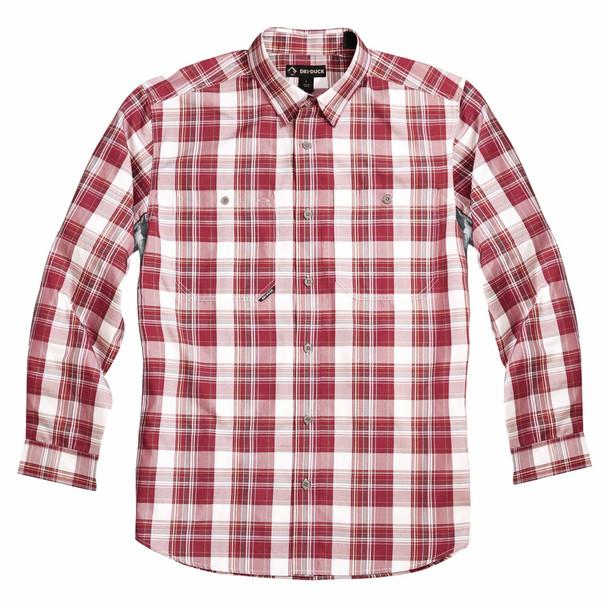 Dri Duck Highridge Long Sleeve Plaid Shirt