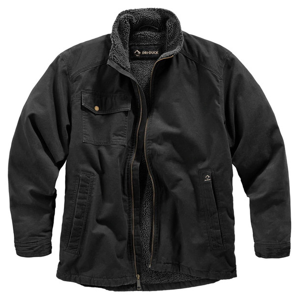 Dri Duck Endeavor Sherpa Lined Canvas Jacket