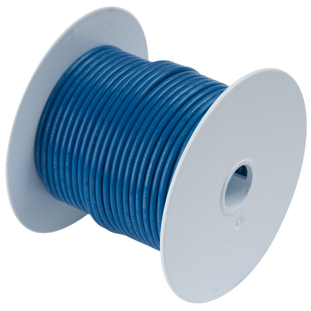 Ancor Dark Blue 10 AWG Tinned Copper Wire - 25'
