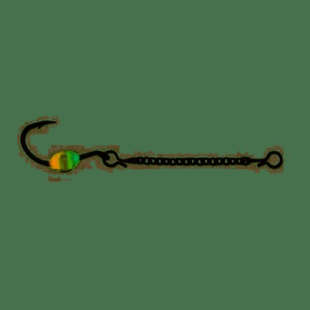 VMC ODC15GOGL Octopus Dropper Chain - Green Orange Glow (ODC15GOGL)
