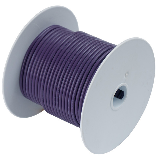Ancor Purple 18 AWG Tinned Copper Wire - 500'