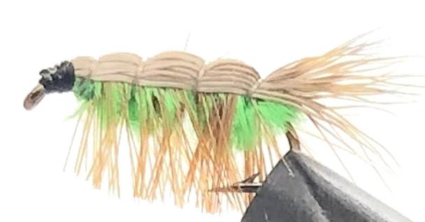 10 Flies -  Nymph Freshwater Shrimp on a Bronze 14 Mustad Hook