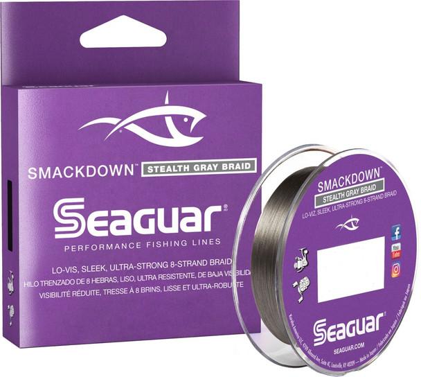 Seaguar Smackdown 15LBS 150 YDS - Stealth Gray Braid