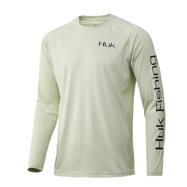 Huk Bass Pursuit Long Sleeve T-Shirt - Fog Green
