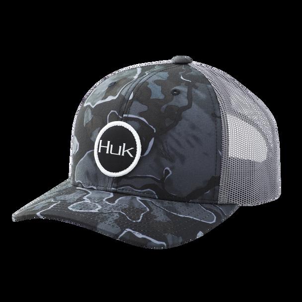 Huk Current Camo Trucker - Hannibal Bank
