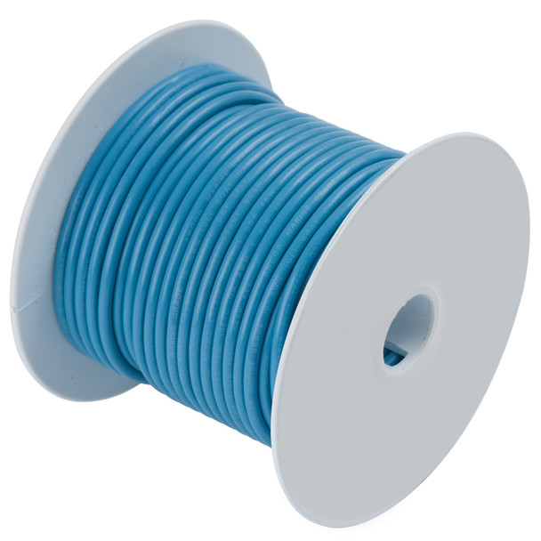 Ancor Light Blue 16 AWG Tinned Copper Wire - 500'