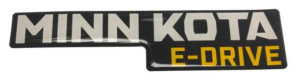 Minn Kota Trolling Motor Part - DECAL-SHIELD, E-DRIVE E-DRIVE MK LOGO - 2045612