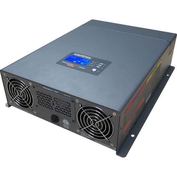Xantrex Freedom XC 2000 True Sine Wave Inverter/Charger - 12VDC - 120VAC - 2000W/80A