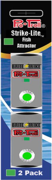 Pro-Troll Strike-Lite Adhesive LED Lights (Green - 2 pk)