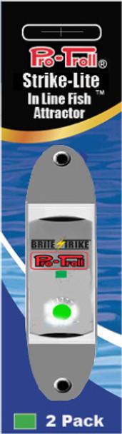 Pro-Troll Strike-Lite In Line Light LED Lights (Green -  2 pk)