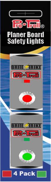 Pro-Troll Strike-Lite Planer Board LED Lights (2 Red, 2 Green)