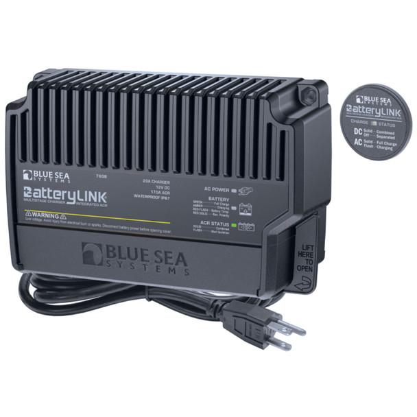 Blue Sea 7608 BatteryLink Charger (North America) - 12V - 20Amp - 2 Bank