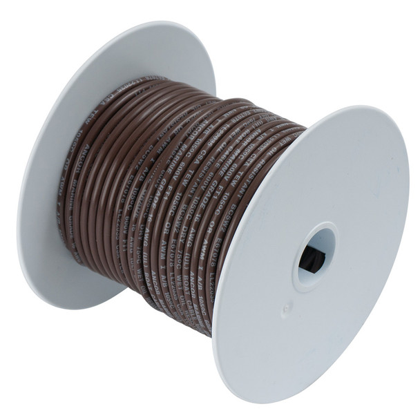 Ancor Brown 10 AWG Tinned Copper Wire - 250'