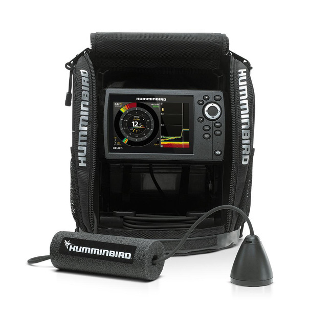 Humminbird Ice HELIX5 CHIRP G2 Ice Sonar GPS System 410970-1