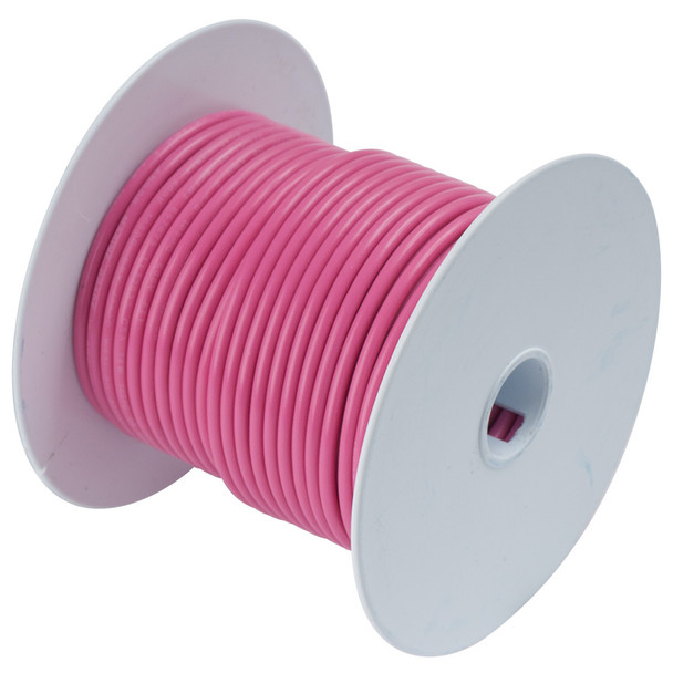Ancor Pink 18 AWG Tinned Copper Wire - 100'