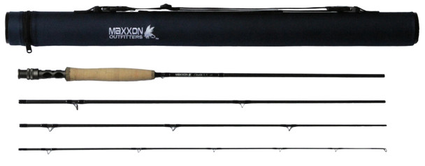 "Maxxon Double XX Fly Rod - 8'6"" 4WT Half Wells 4Pc"