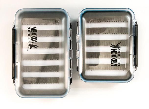 Maxxon Fly Fishing Bug Box - Medium 5 Row