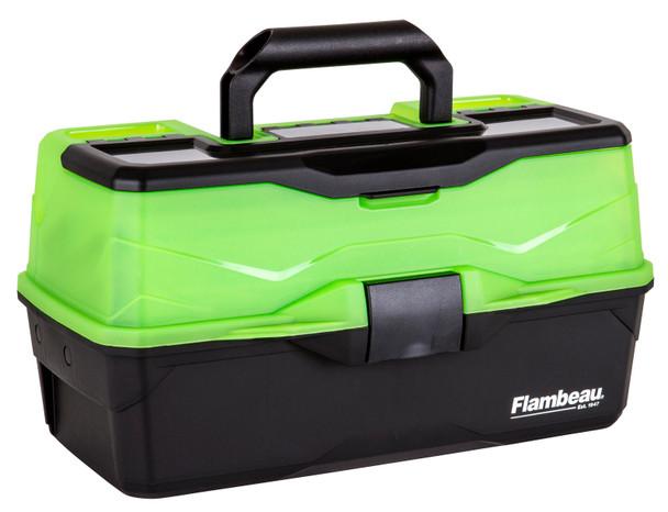 Flambeau 3 Tray - Frost Green/Black Hard Tackle Box