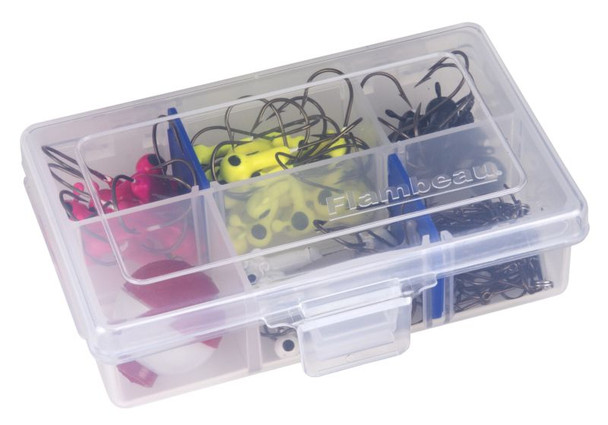 Flambeau 6 Compartment (includes 2 Zerust Dividers) Tuff Tainer