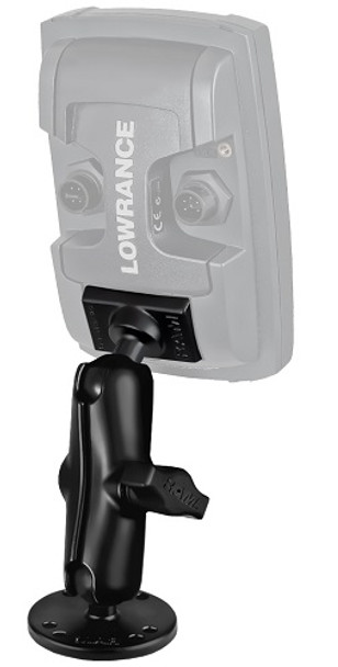 Lowrance 1-inch Ram Quick Release Mount