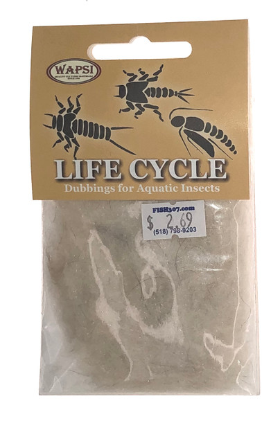 Wapsi Life Cycle Dubbin - Nymph Cahill Cream