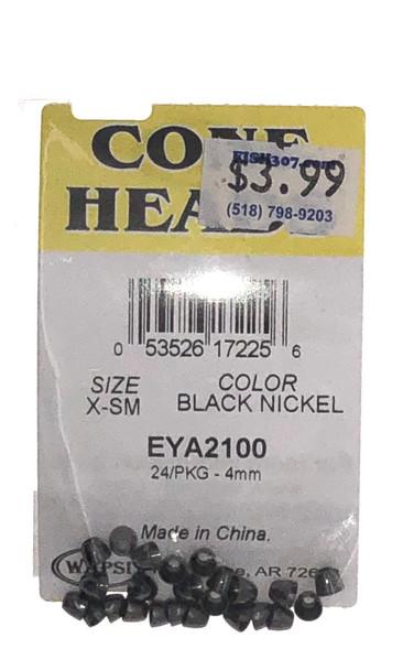 Wapsi Cone Heads - 24 per pack - Black Nickel X-SM