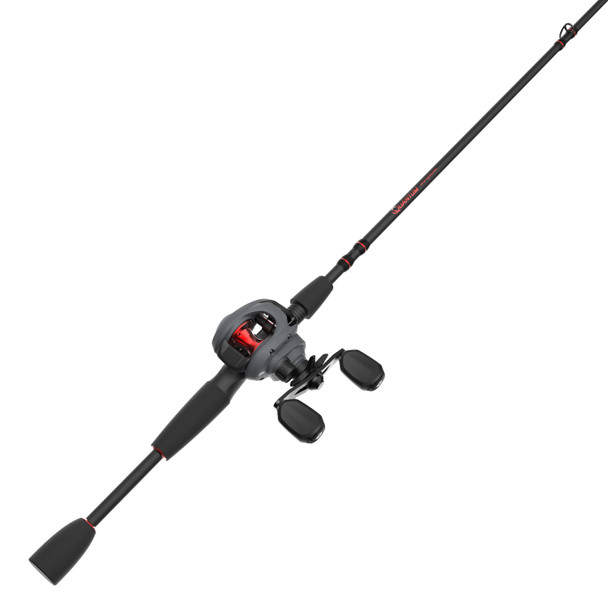 Quantum Invade Baitcast Reel and Fishing Rod Combo
